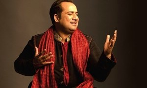 Rahat Fateh Ali Khan creates magic yet again with the OST of Khasara
