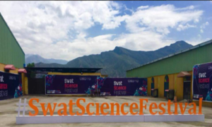 Malala Appreciates Swat Science Festival!