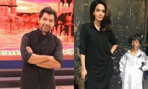 Shuja Haider teams up with Saba Qamar for 'Jeevan Daan'