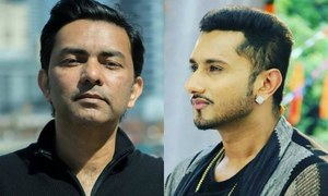 Yo Yo Honey Singh is completely smitten by Sajjad Ali's Lagaya Dil