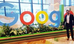Google Headquarters Singapore hosts lunch in honor of Shahid Afridi