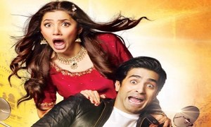 Mahira Khan shines through in a crazy 7 Din Mohabbat in Trailer
