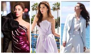 Mahira Khan made Cannes fall in love with her grace and beauty!