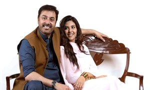Sunita Marshall and Noman Ijaz pair up for Ghamand, a Sadia Jabbar production!
