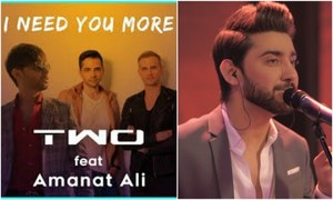 "Amanat Ali and TWO collaborate for ""I Need You More"""
