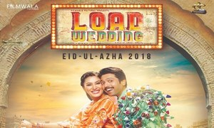 "The poster for Fahad Mustafa, Mehwish Hayat starrer ""Load Wedding"" leaves us wanting more!"