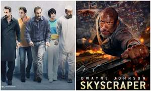 Weekend Box Office Recap: Sanju Continues To Dominate, Skyscraper Starts Slow