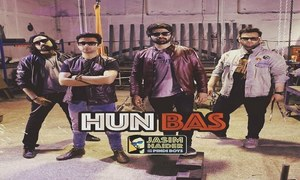 "Jasim Haider and the Pindi Boys release ""Hun Bas"""