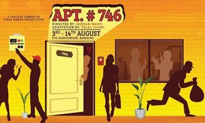 Stage Nomad Productions is ready to deliver rib tickling laughter with Apartment # 746