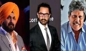 Sidhu accepts PM-Elect invite - Aamir Khan denies receiving any!