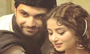 """Sajal Aly is at her finest in Aangan,"" Ahad Raza Mir opens up about upcoming drama Aangan and Sajal Aly"