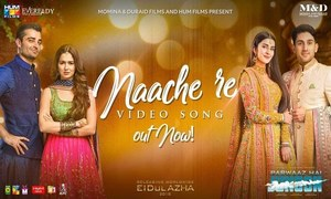 Naache Re from Parwaaz Hai Junoon is Good but is it the Biggest Wedding Song of the Season?
