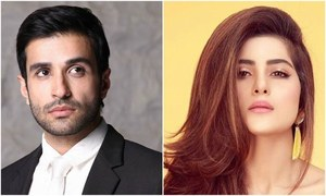 Sohai Ali Abro and Azfar Rehman  return to small screen after Adhi Gawahi!