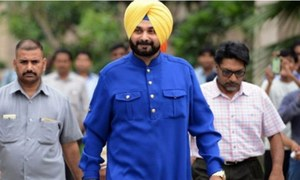 Navjot Singh Sidhu Returns To India As A Very Happy Man