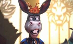 Meet Mangu- The Donkey King!