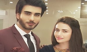 Imran Abbas pairs up with Sana Javed for 7th Sky Entertainment's next!