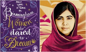 Malala gets featured in a new book celebrating her work!