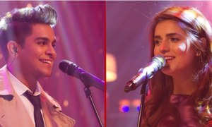 Asim Azhar and Momina Mustehsan's Tera Woh Pyar crosses 100 Million Views on YouTube