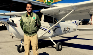 Fakhr-e-Alam to be the first Pakistani to fly solo?