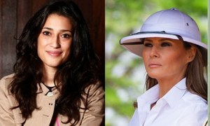 Fatima Bhutto Shuns Melania Trump for Inappropriate Dressing During Africa Visit