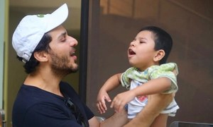 Ahsan Khan celebrates his birthday with special kids at Darul Sakoon