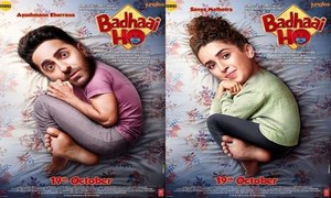 Bollywood Movie Badhaai Ho Releases in Pakistan Today