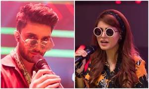 Ahad Raza Mir & Momina Mustehsan recreate Ko Ko Korina with all the fun!