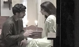 Ahad Raza Mir & Mawra Hocane set screens on fire in Aangan's latest teaser