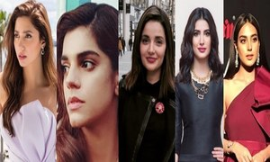 Mahira Khan, Sanam Saeed, Mehwish Hayat, Armeena Khan & Iqra Aziz featured in The Asians Sexiest Woman List