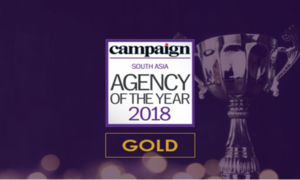 Mindshare Pakistan wins Pakistani Media Agency of the Year at Campaign Asia 'Agency of the Year' Awards