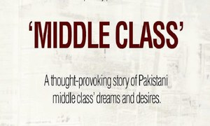 "Sadia Jabbar Productions announce their second cinematic outing with ""Middle Class"""