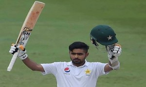 Babar Azam and Azhar Ali hit hundreds to reach parity with CSA XI
