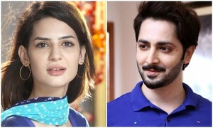 "Madiha Imam and Danish Taimoor come together for ""Mera Rab Waris"""