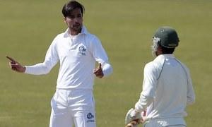 Mohammad Amir 's discipline helps Pakistan fight back