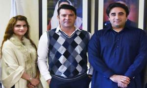 Actor Moammar Rana Joins Politics