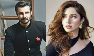 Hamza Ali Abbasi taught Mahira Khan Punjabi for The Legend Of Maula Jatt