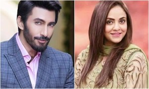 Aijaz Aslam and Nadia Khan pair up for upcoming comedy serial 'Dolly Darling'