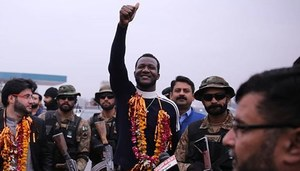 Darren Sammy Thanks Fans In Pakistan For The Love!