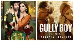 Luka Chuppi and Gully Boy to release in Pakistan