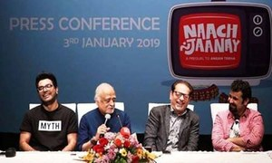 Anwar Maqsood& Daawar Mehmood's 'Nach Na Janay' To Premiere on 19th March
