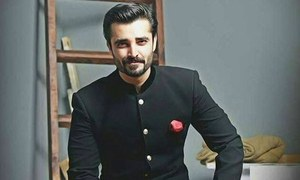 Hamza Ali Abbasi raises voice for the Kashmiris once again