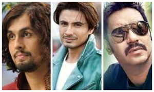 Ajay Devgan and Sonu Nigam Support Ali Zafar