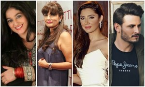 Pakistani celebrities stand united with the victims of harassment