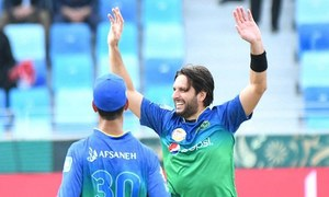 Can't Bat, Can't Field, but Afridi's Bowling is Still Going Strong