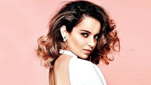 Kangana Ranaut Tries to Clean the Air