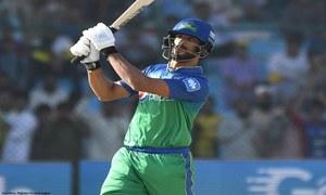 Shan Masood Flaunts his Extended Batting Range