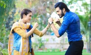 HIP Exclusive: Shahzad Sheikh and Ayeza Khan Wrap Up Shoot for A Telefilm