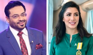 Spat Between Amir Liaqat & Mehwish Hayat Intensifies
