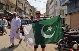 Drew Binsky Bids Farewell to Pakistan in a Heartfelt Video