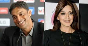 Shoaib Akhtar Rubbishes All Rumours of Him Being in Love with Sonali Bendre!